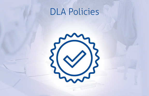 DLA - Website boxes blue text - DLA policies
